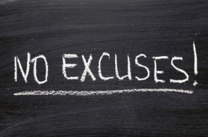 Productivity Coaching: Stop Making Excuses