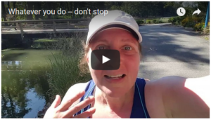 Whatever you do — don't stop [VIDEO]